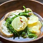 Juha s krumpirom, rukolom i kruhom - Fini Recepti by Crochef