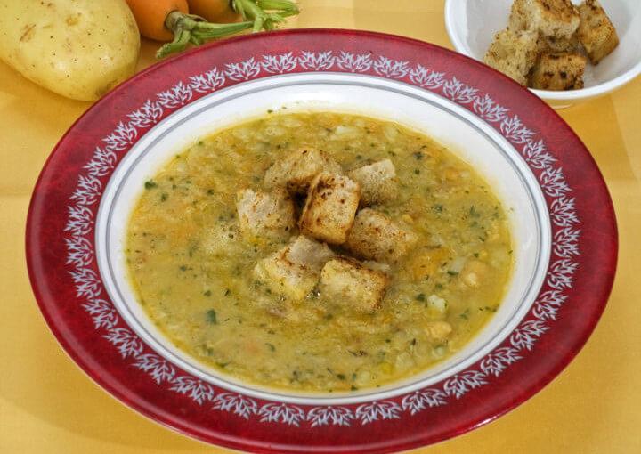 Egipatska juha od slanutka