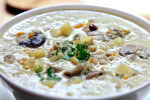 Aromatična juha s gljivama i krumpirom