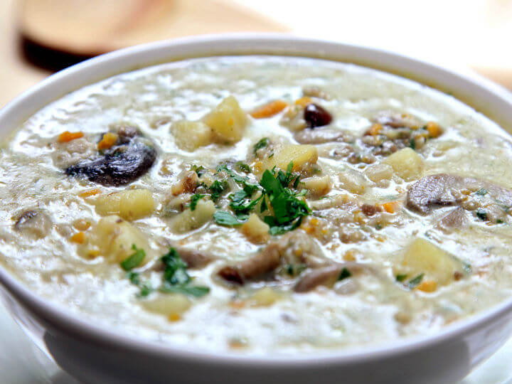 Aromatična juha s gljivama i krumpirom - Fini Recepti by Crochef