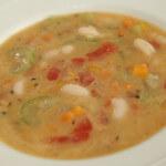 Povrtna juha s bijelim grahom - Fini Recepti by Crochef