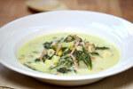 Fina juha s povrćem, tjesteninom i mortadelom