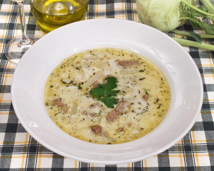 Krepka juha s topljenim sirom - Fini Recepti