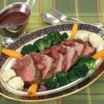 Chateaubriand s umakom od crnog vina i lučica - Fini Recepti