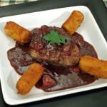 Juneći filet u umaku od crnog vina