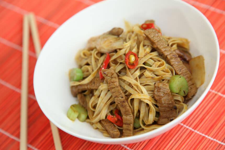 Junetina sa shiitake gljivama na tajlandski način - Fini Recepti by Crochef