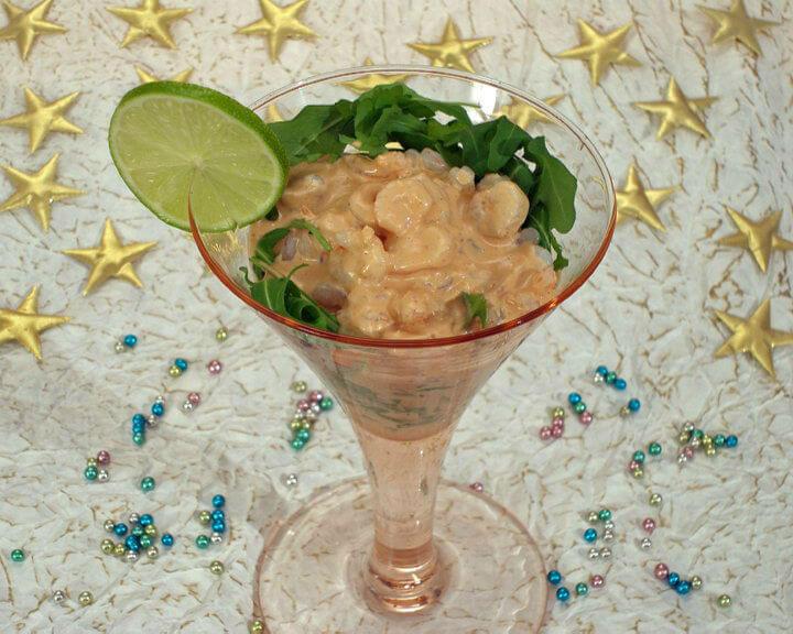Koktel od morskih kozica - Fini Recepti