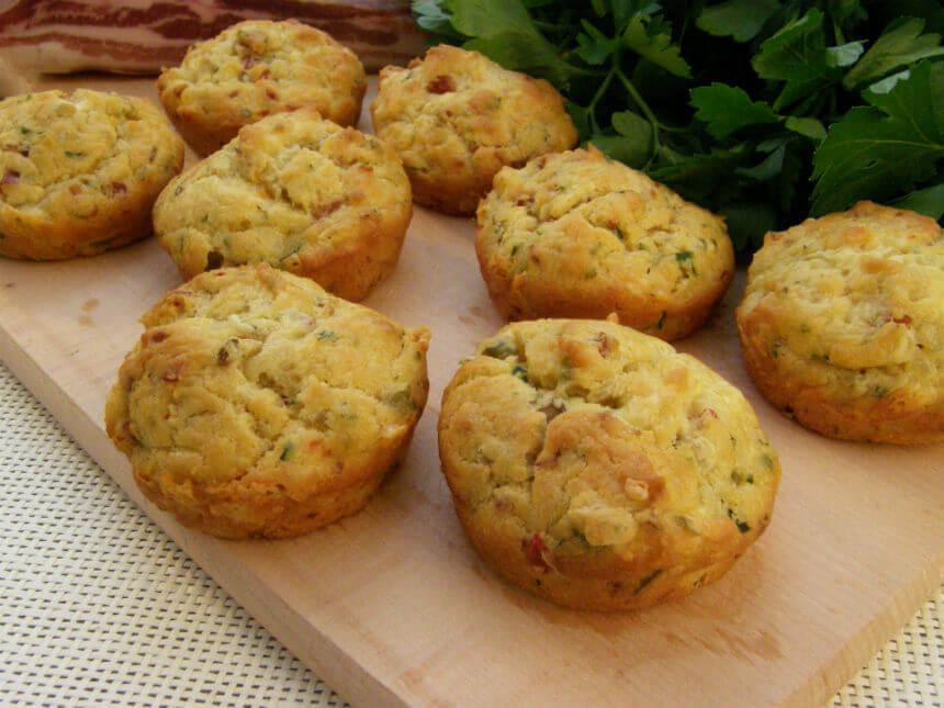 Kolačići s maslinama i pancetom - Fini Recepti