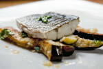 Fileti kornatske hame na posteljici od patlidžana i mente - Fini Recepti by Crochef