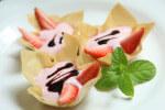 Košarice s kremom od jagoda - Fini Recepti by Crochef
