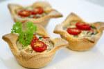 Košarice od tijesta s nadjevom od povrća i sira - Fini Recepti by Crochef