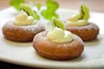 Američke krafne (donuts) s pudingom od vanilije i kivijem - Fini Recepti by Crochef