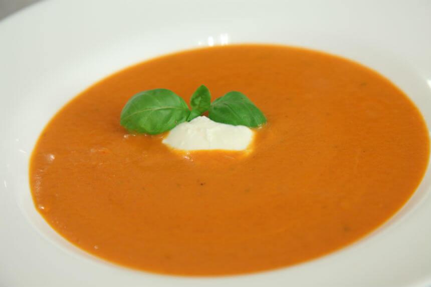 Krem juha od rajčice s bosiljkom - Fini Recepti by Crochef