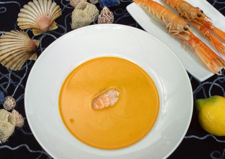 Krem juha od škampa