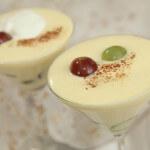 Krema od pjenušca sa svježim grožđem - Fini Recepti by Crochef