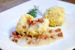 Okruglice od krumpira s umakom od kobasice - Fini Recepti by Crochef