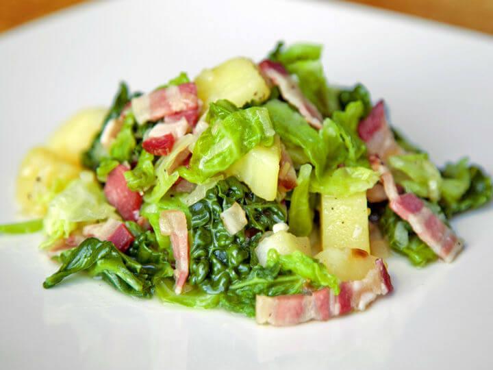 Krumpir s keljom i slaninom - Fini Recepti by Crochef