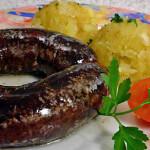 Krvavice s restanim krumpirom - Fini recepti