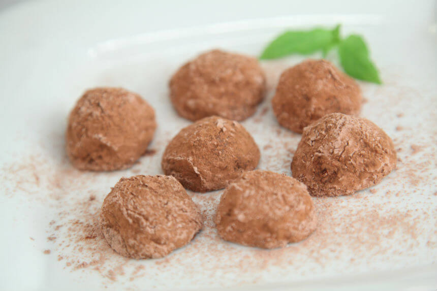 Slatke kuglice od kestena i čokolade - Fini Recepti by Crochef