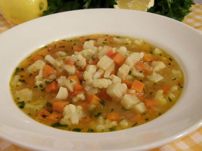 Lagana povrtna juha - Fini Recepti by Crochef