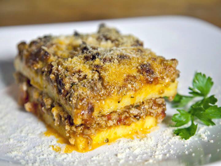 Lasagne od palente i mljevenog mesa - Fini Recepti by Crochef