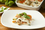 Lazanje s tunjevinom i povrćem - Fini Recepti by Crochef