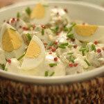 Ljetna salata od mladog krumpira