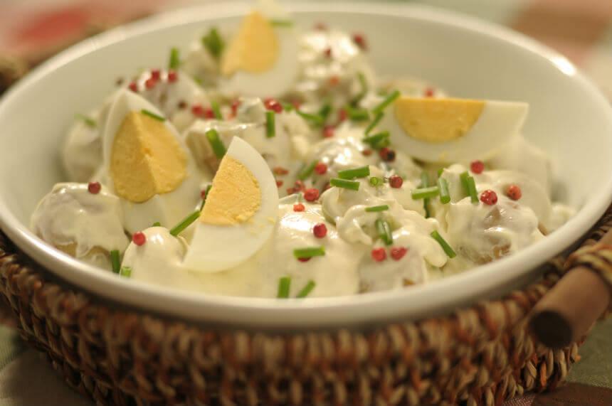 Ljetna salata od mladog krumpira - Fini Recepti by Crochef