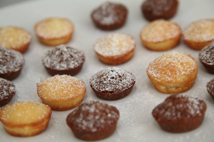 Biskvitni kolačići s lješnjacima i bademima - Fini Recepti by Crochef