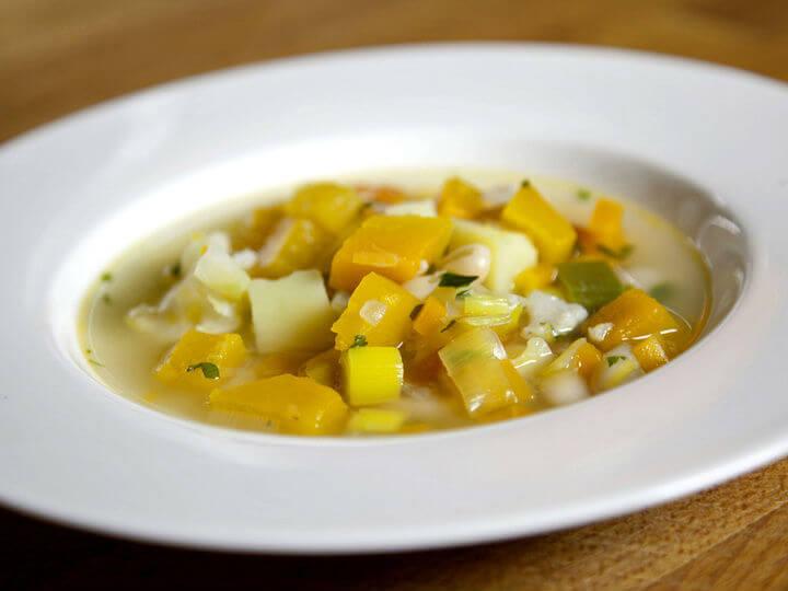 Maneštra od povrća i bundeve - Fini Recepti by Crochef