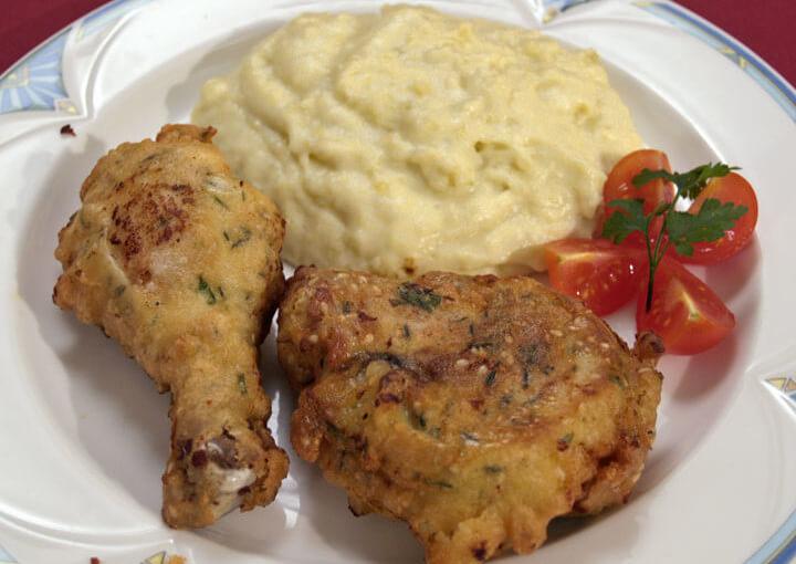Pohana piletina iz marinade