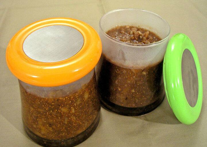 Marmelade od suhih smokava s orasima