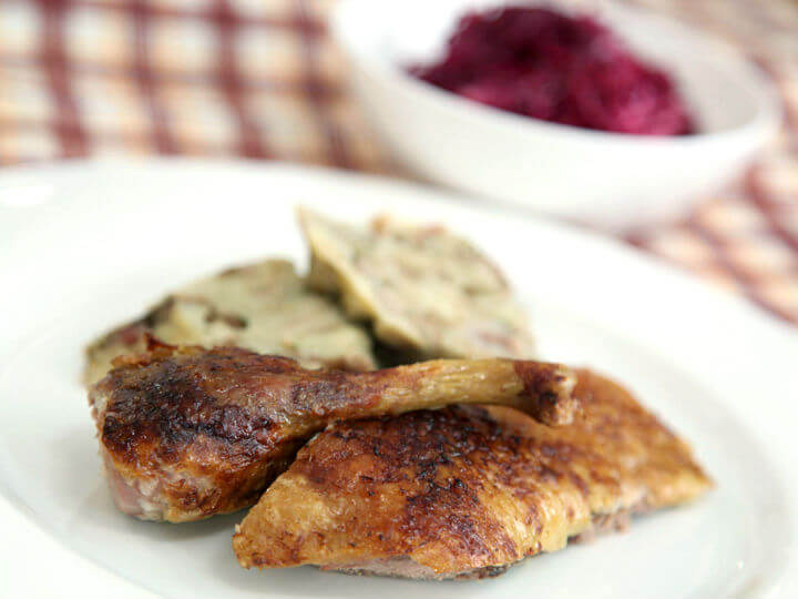Martinjska patka s kestenima - Fini Recepti by Crochef