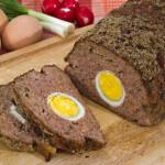 Mesna štruca s jajima - Fini Recepti