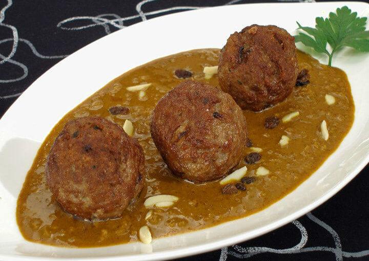 Mesne okruglice u curry umaku
