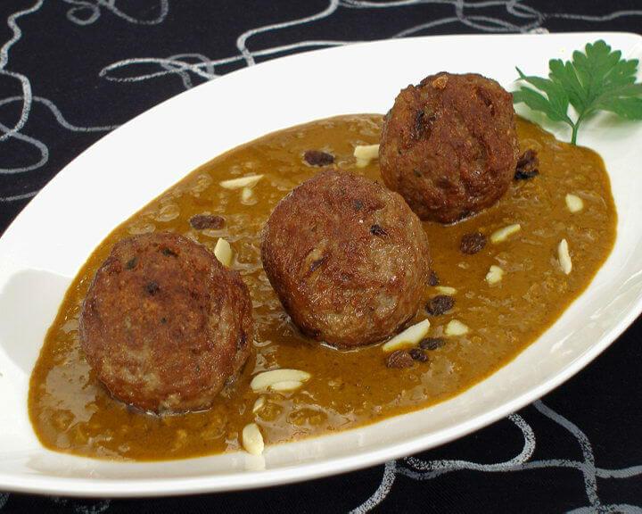 Mesne okruglice u curry umaku - Fini Recepti