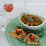 Morska krem juha iznenađenja s plodovima mora