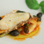 Odresci morskog psa s krumpirom i šparogama - Fini Recepti by Crochef