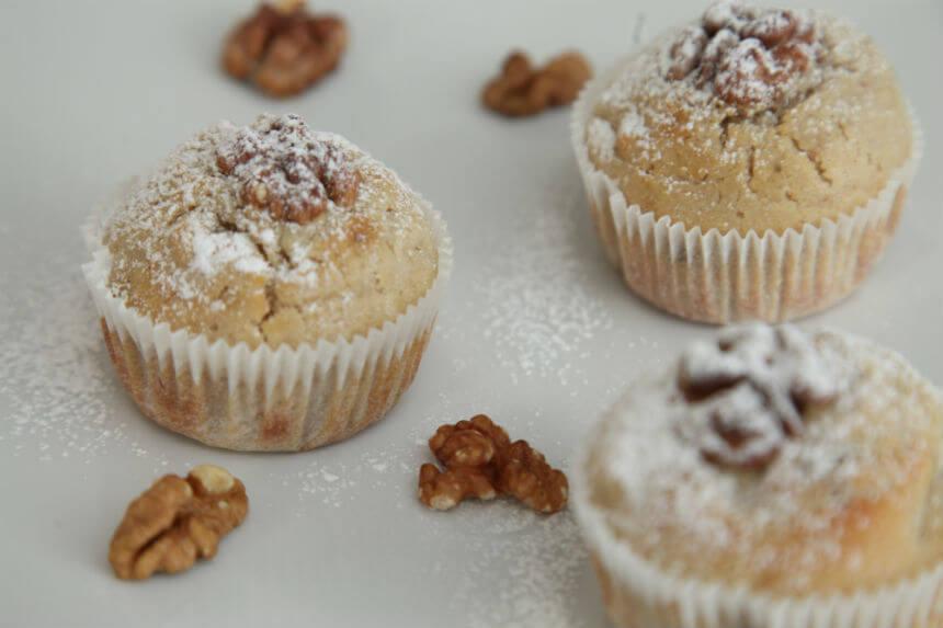 Muffini s kruškama i orasima - Fini Recepti by Crochef