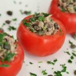 Nadjevene rajčice na primorski način