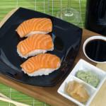 Nigiri sushi od lososa - Fini Recepti