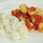 Njoki s rajčicom i gorgonzolom