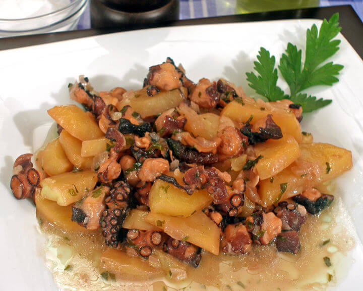 Okrenuta hobotnica - Fini recepti
