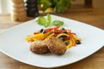 Popečci od tunjevine i svježeg sira s pečenim povrćem - Fini Recepti by Crochef