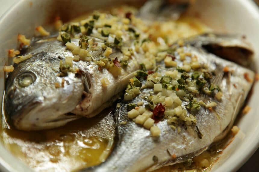 Orade s krumpirom i lukom iz pećnice - Fini Recepti by Crochef