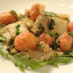 Fileti oslića s maslinama i rajčicama
