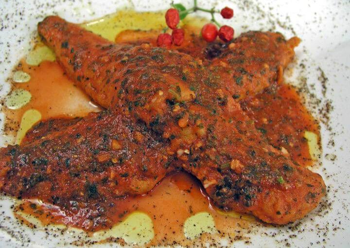 Fileti oslića u pikantnom umaku