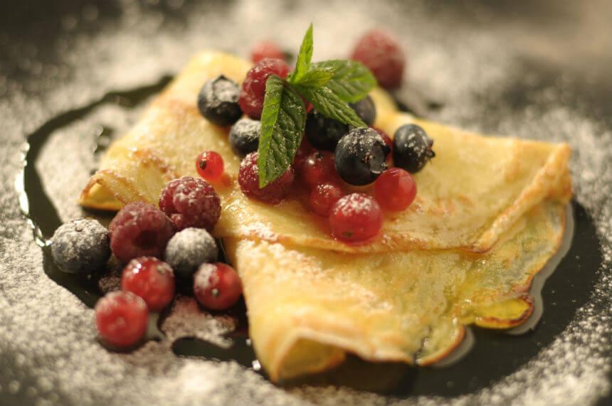 Palačinke s bobičastim voćem - Fini Recepti by Crochef