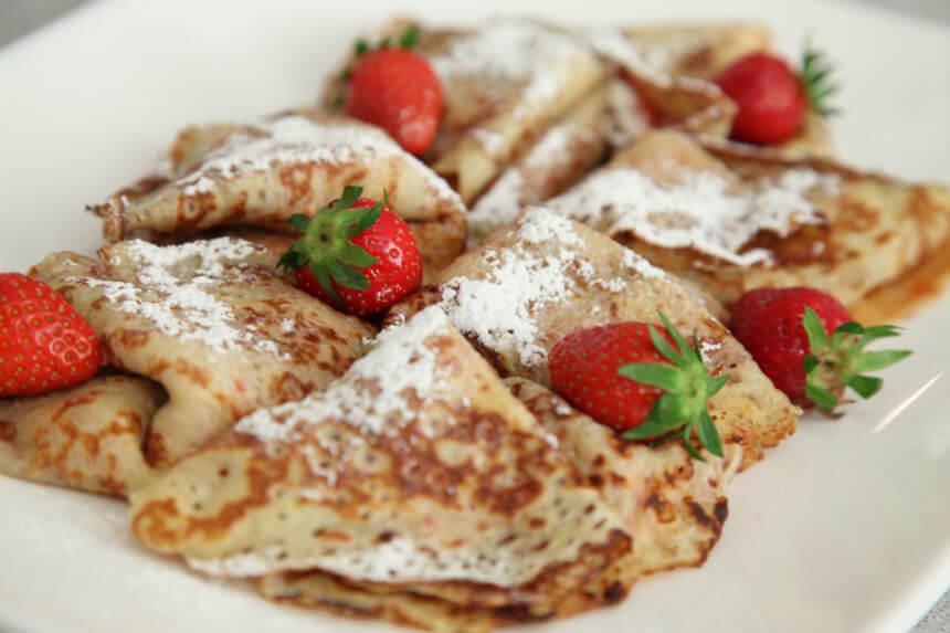 Palačinke s jagodama - Fini Recepti by Crochef