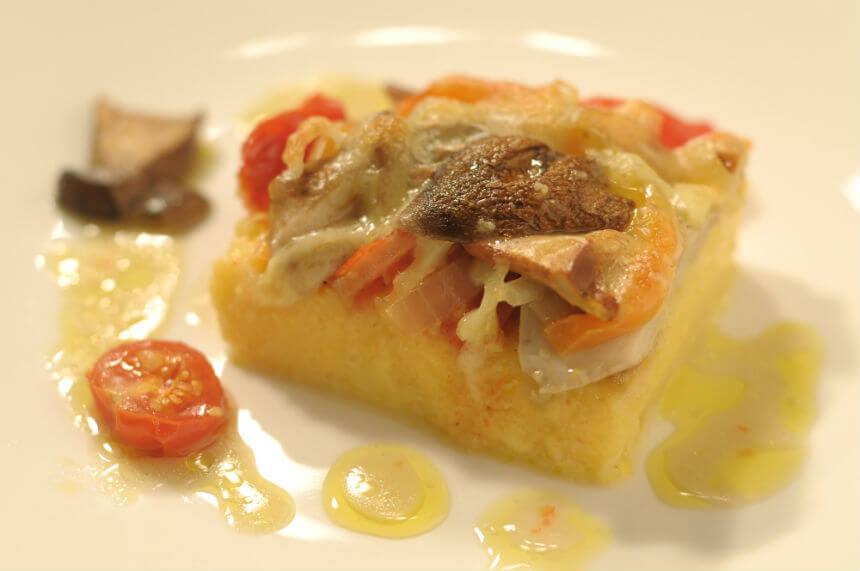 Palenta s gljivama - Fini Recepti by Crochef